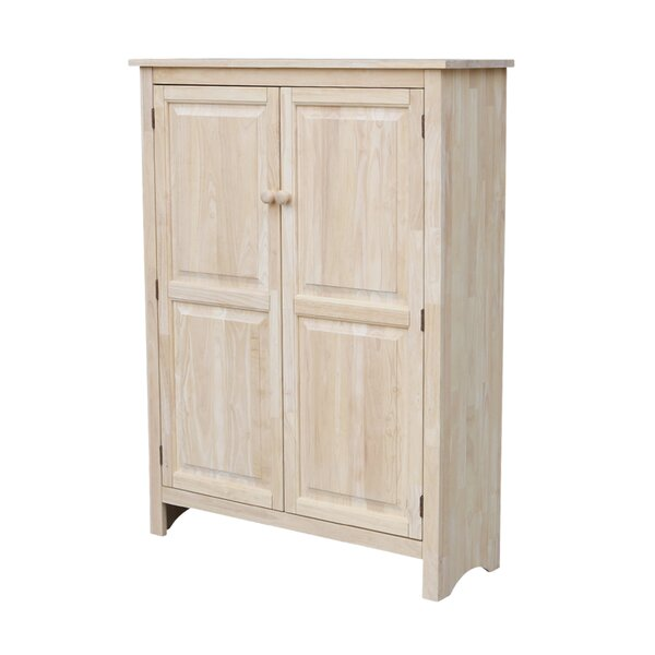 Schleicher Double Door Jelly Armoire by Bungalow Rose
