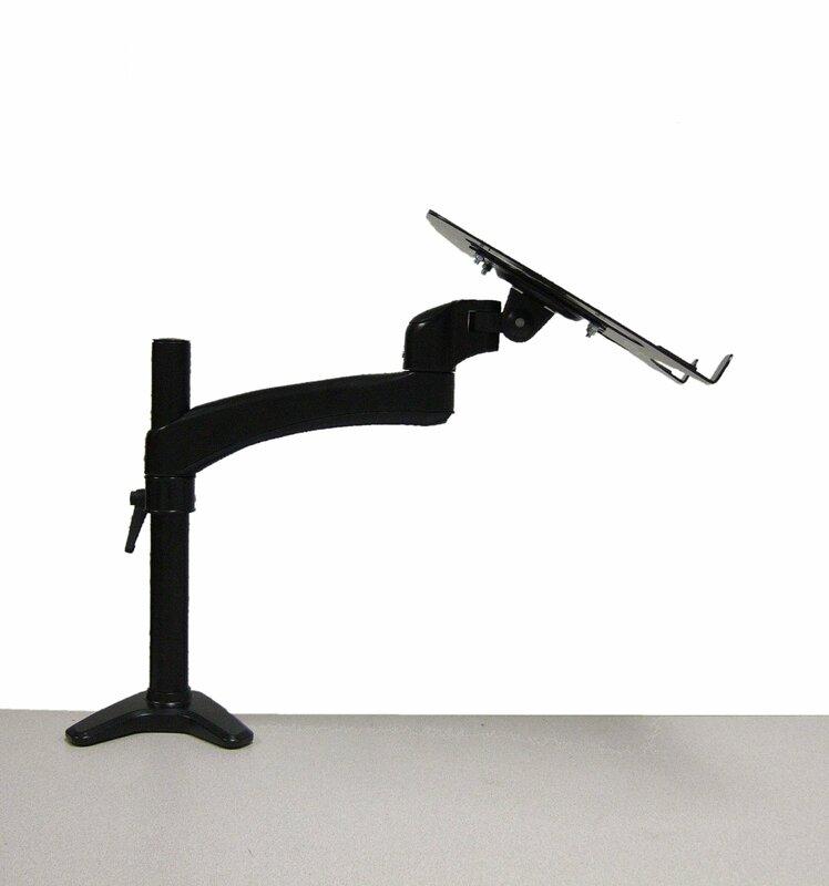 monitor arm height adjustable desk mount