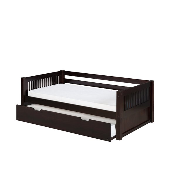 Oakwood Bed with Trundle by Harriet Bee