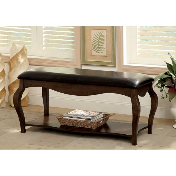 Valledrie Upholstered Bench by Hokku Designs