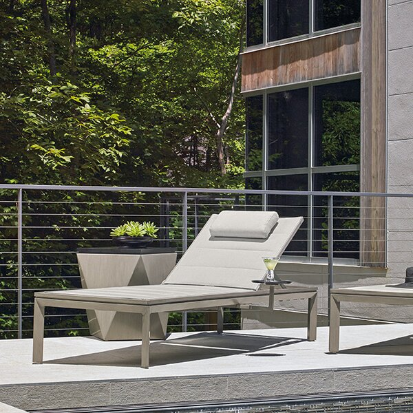 Del Mar Chaise Lounge by Tommy Bahama Outdoor