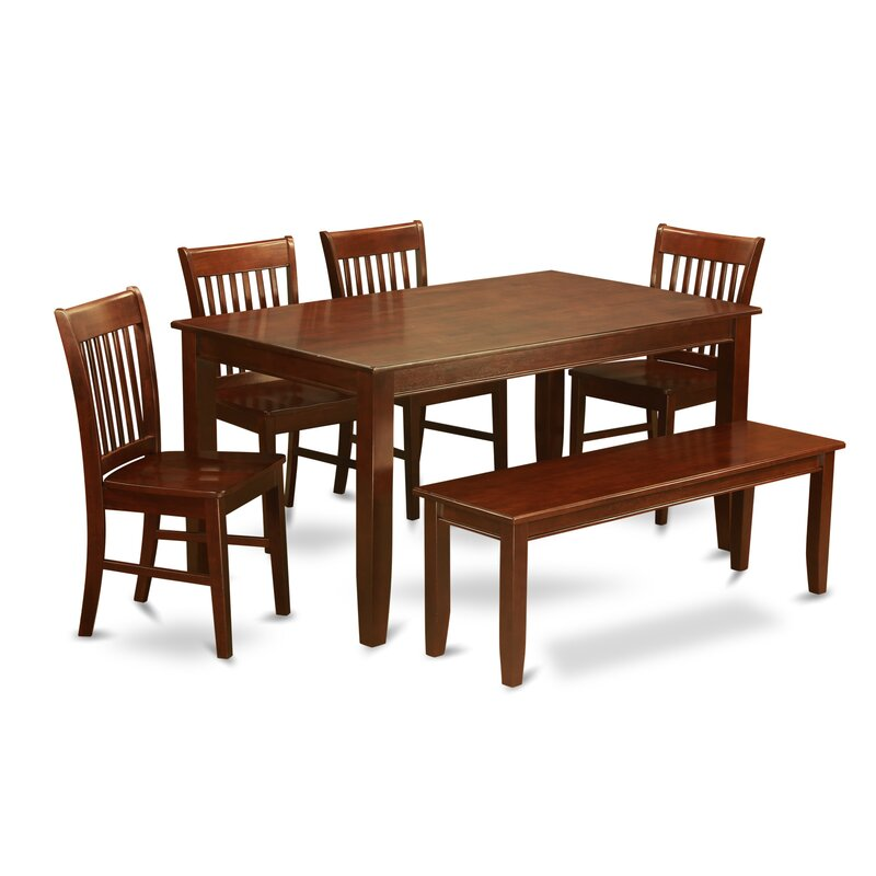 Wooden Importers Lynfield 6 Piece Dining Set: Wooden Importers Dudley 6 Piece Dining Set & Reviews