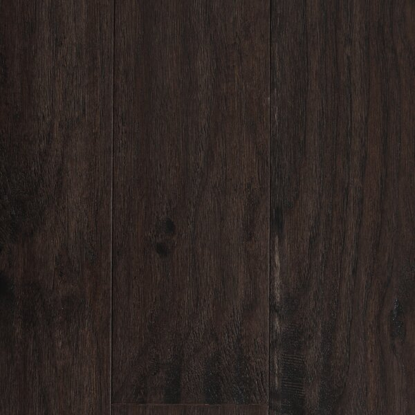 Amsterdam 5 Engineered Hickory Hardwood Flooring in Espresso by Branton Flooring Collection