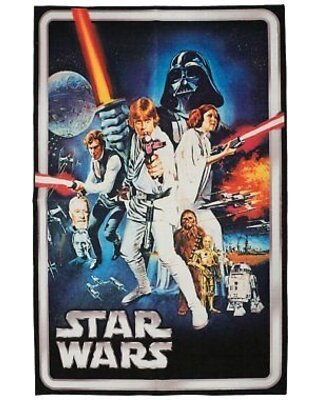 One-of-a-Kind Star Wars Blue/White Area Rug by Kid's Company