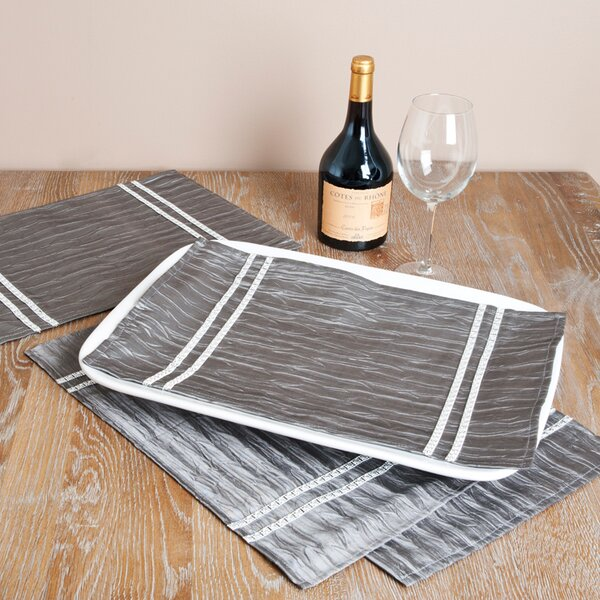 Tray Cloth (Set of 4) by Saro