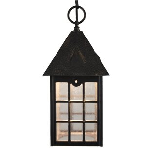 Inexpensive Flannigan 1-Light Outdoor Hanging Lantern By Charlton Home