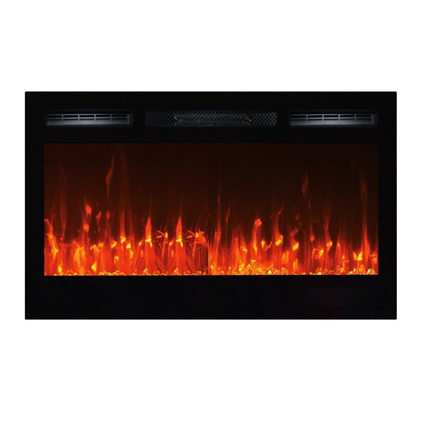 Sideline Wall Mounted Electric Fireplace by Touchstone