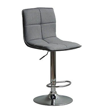 Kale Adjustable Height Swivel Bar Stool (Set of 2) by Latitude Run
