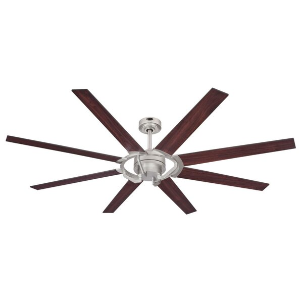 68 Ennis 8 Blade Ceiling Fan with Remote by Orren Ellis