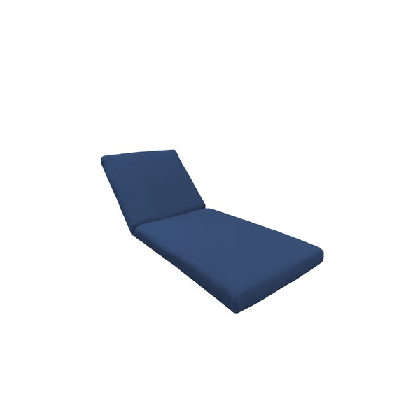 2 Piece Outdoor Chaise Lounge Cushion Set by TK Classics