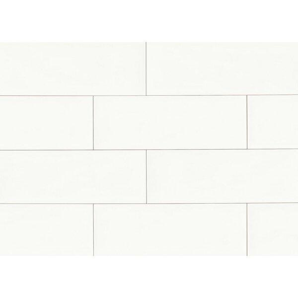 Starck 8 x 24 Ceramic Field Tile in White by Grayson Martin
