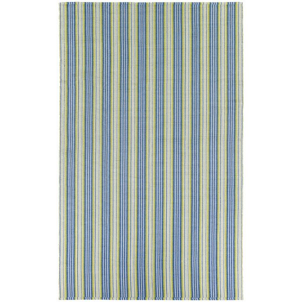 Artique Green/Blue Area Rug by Highland Dunes