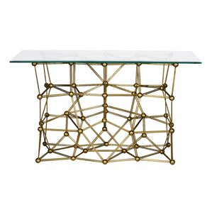 Iron Console Table by Worl..
