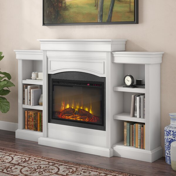 Allsop Mantel Wall Mounted Electric Fireplace by Charlton Home