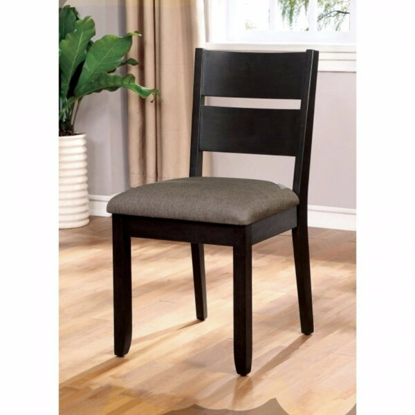 Roemer Transitional Solid Wood Dining Chair (Set of 2) by Latitude Run
