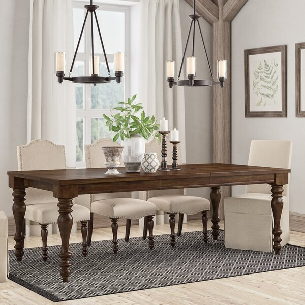Hilliard Extendable Dining Table by Darby Home Co