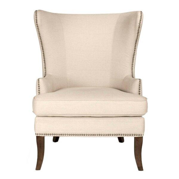 Schermerhorn Wingback Chair by Gracie Oaks