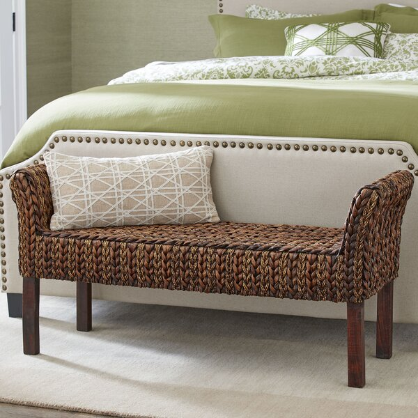 Clearwater Woven Bench by Birch Lane™
