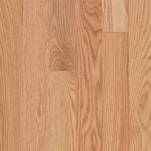Randhurst Random Width Engineered Oak Hardwood Flooring in Red Natural by Mohawk Flooring
