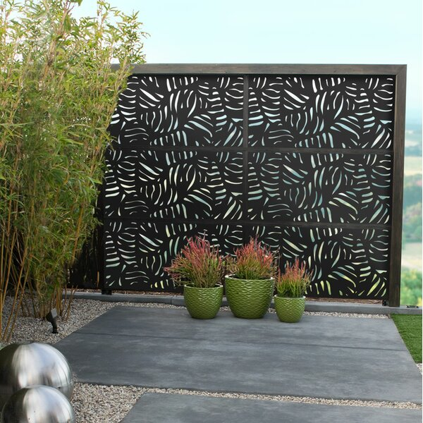 3 ft. H x 6 ft. W Panama WPC Fence Panel by Modinex