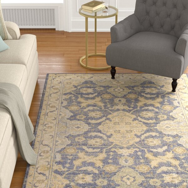 Dawes Blue/Beige Area Rug by Darby Home Co