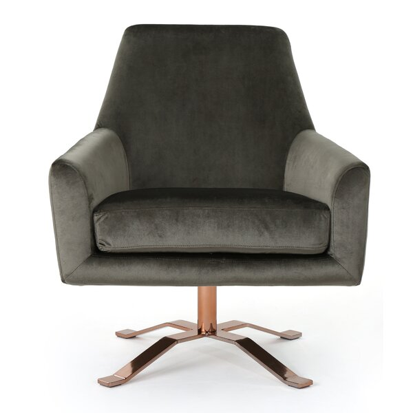 Devers Swivel Armchair by Mercer41