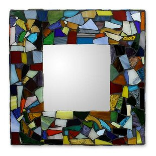 stained glass mirrors wayfair