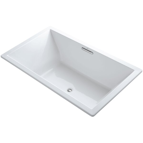 Underscore Vibracoustic 72 x 42 Soaking Bathtub by Kohler