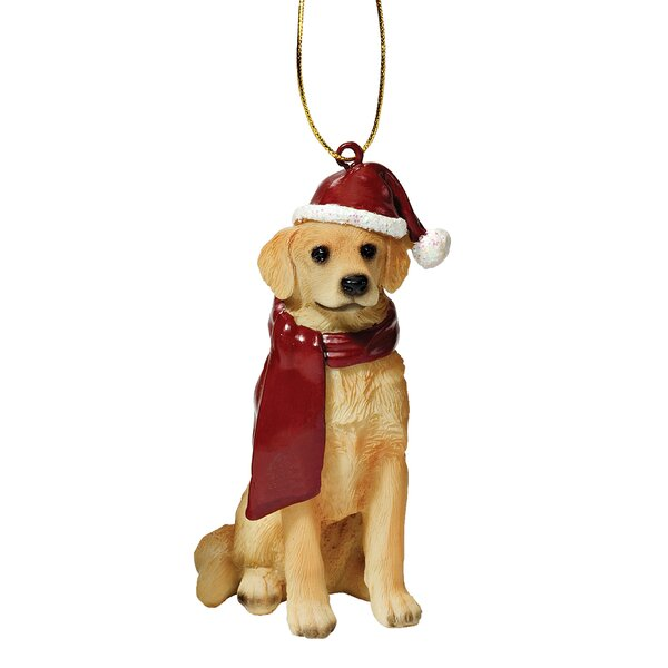 Retriever Holiday Dog Ornament Sculpture by Design