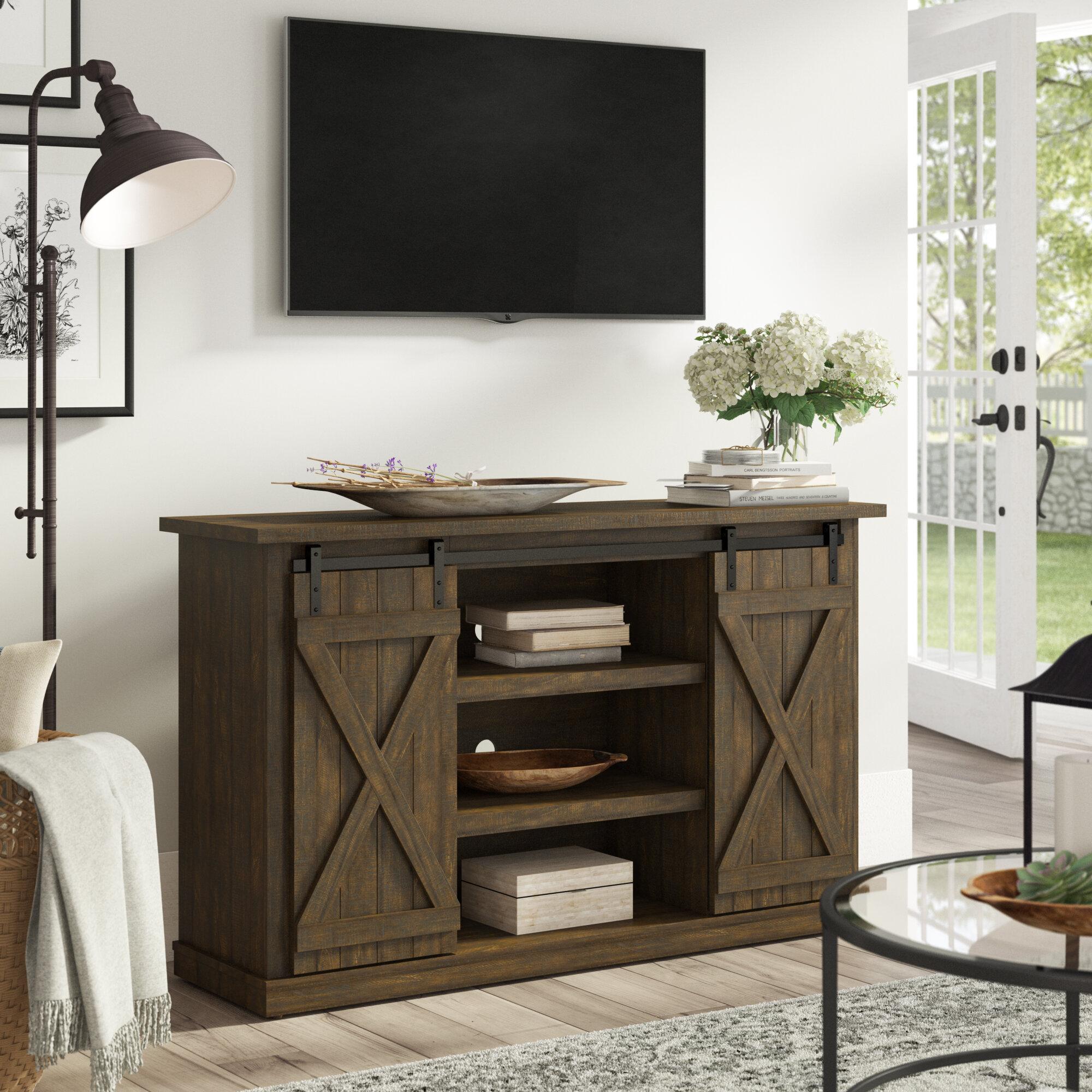 cheap for discount f79cd f979e Farmhouse & Rustic TV Stands | Birch Lane