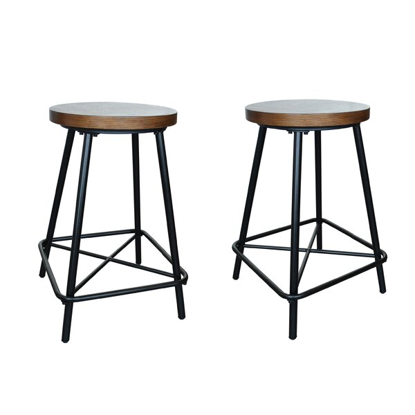 Beatty 24 Bar Stool (Set of 2) by Williston Forge