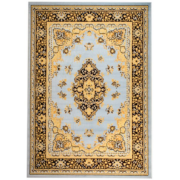 Pettaway Blue/Brown Area Rug by Astoria Grand