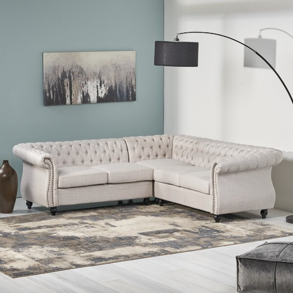 Internet Buy Firth Symmetrical Symmetrical Sectional by House of Hampton by House of Hampton