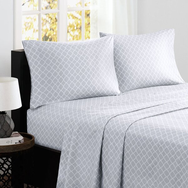 Washburn 200 Thread Count Percale Sheet Set by Alcott Hill