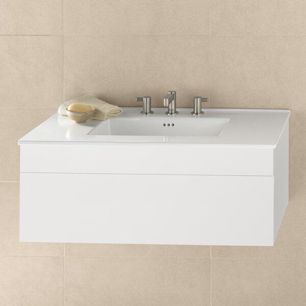 Rebecca 37 Wall-Mounted Single Bathroom Vanity Set by Ronbow