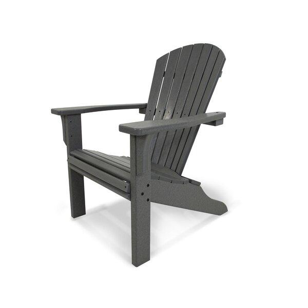 Seashell Plastic Adirondack Chair by POLYWOOD®