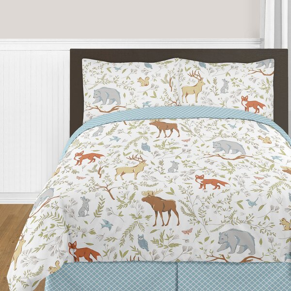 Woodland Toile Comforter Collection by Sweet Jojo Designs