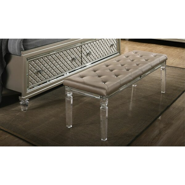 Hollingshead Upholstered Bench by Mercer41