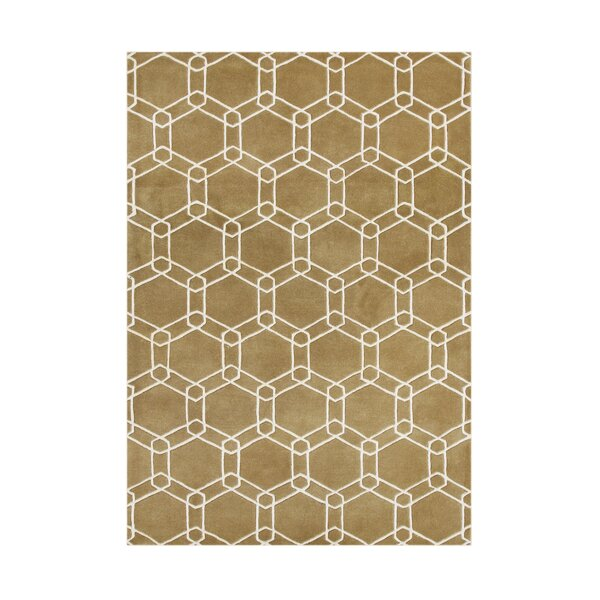 Winchester Bay Hand-Tufted Taupe Area Rug by The Conestoga Trading Co.