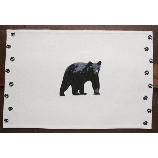 Wesley Bear Placemat (Set of 4) by Loon Peak