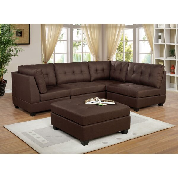 Choute Right Hand Facing Modular Sectional By Ebern Designs