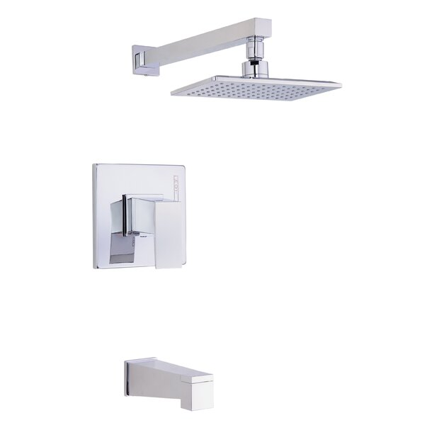 Mid-Town Tub and Shower Faucet Trim with Lever Handle by Danze®