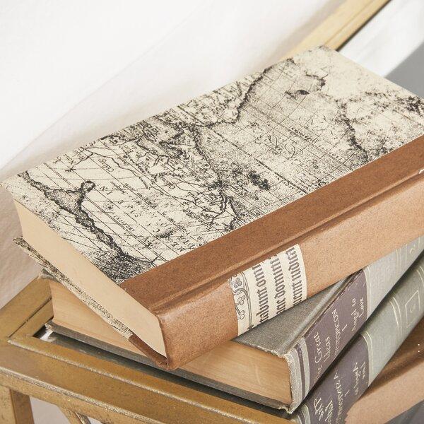 Script Title Design Cream Paper Decorative Book by Three Posts