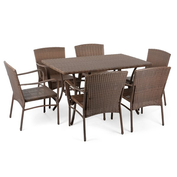 Beaman 7 Piece Dining Set by Bloomsbury Market