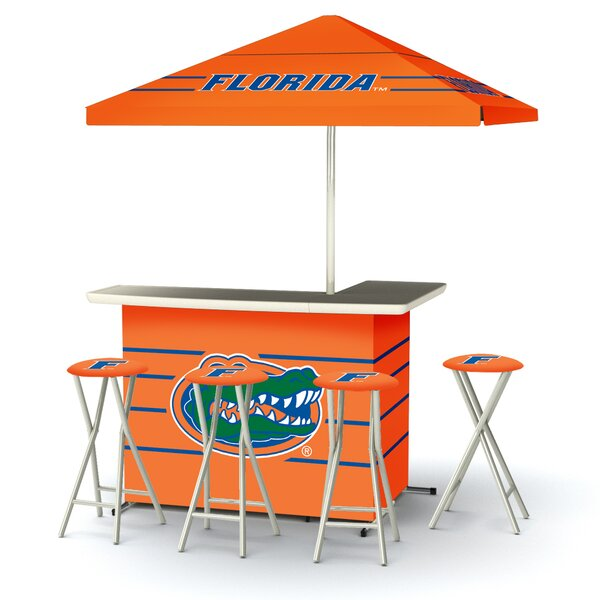 5 Piece University Of Florida Bar Set by Best of Times Best of Times