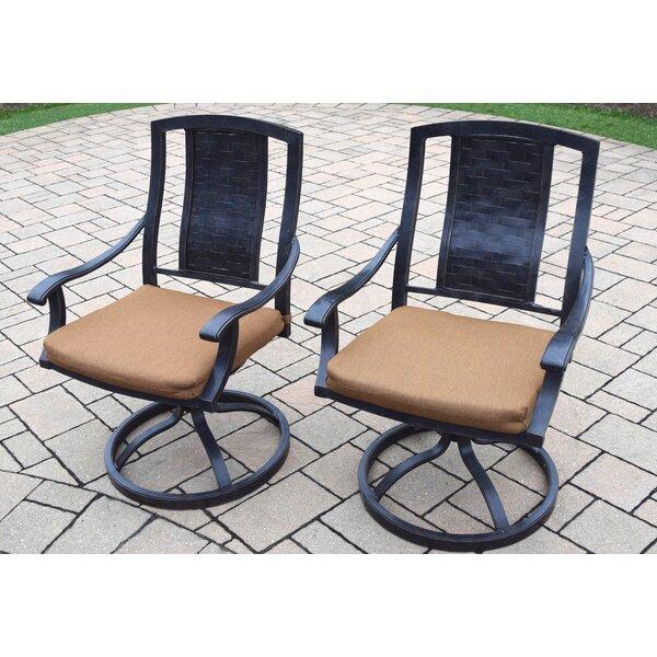 Zulema Patio Chair with Cushion by Charlton Home Charlton Home