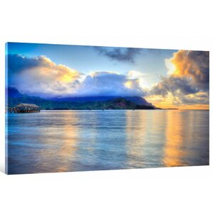 Hanalei Bay by Kelly Wade Photographic Print on Wrapped Canvas by Hadley House Co