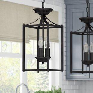 Best Price Barryton 3-Light Foyer Pendant By Astoria Grand