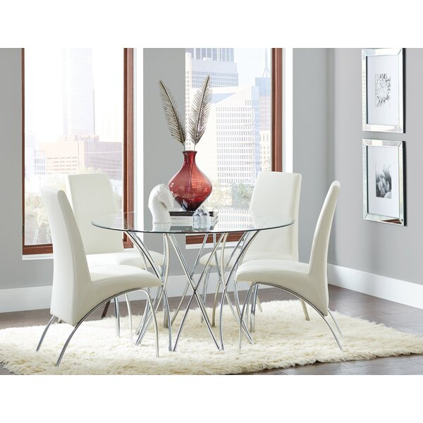 Edzard 5 Piece Dining Set by Orren Ellis Orren Ellis