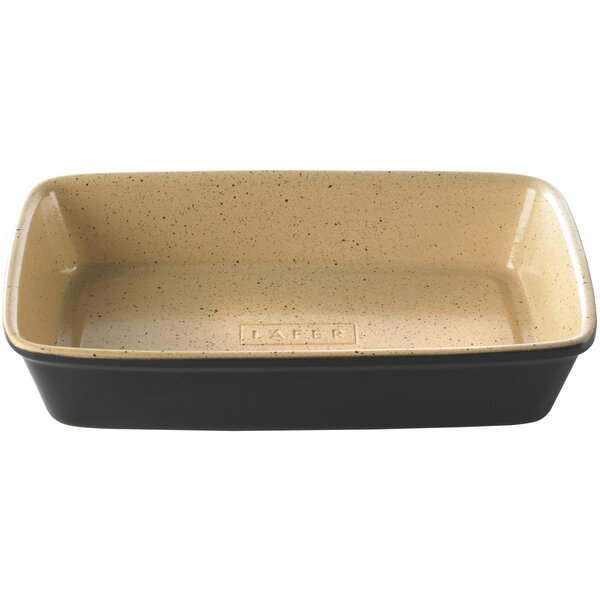 Lafer BBQ Rectangular Non-Stick Large Casserole Dish by Romertopf